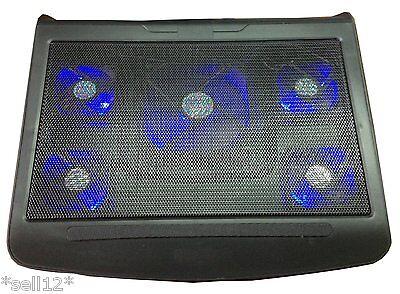 """[K-5] Notebook Kühler Laptop Kühlerpad Lüfter Cooler Pad 17-18-19"""" Zoll +USB Hub"""