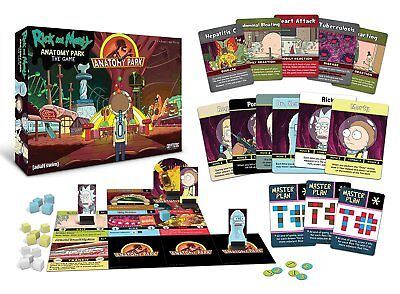Rick and Morty Anatomy Park Card Game - Anatomy Games