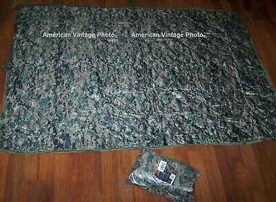 Liner Poncho MARPAT USMC Reproduction Digital Camouflage  Woobie Marine Corps