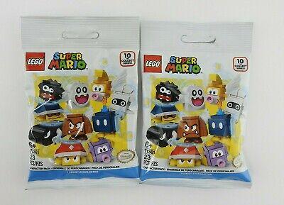 2 New Packs Lego 71361 Super Mario Blind Bag Mystery Figure 2020 Lot