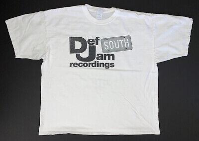 Vintage Def Jam South Recordings T-Shirt Size Mens 2XL Ludacris Scarface