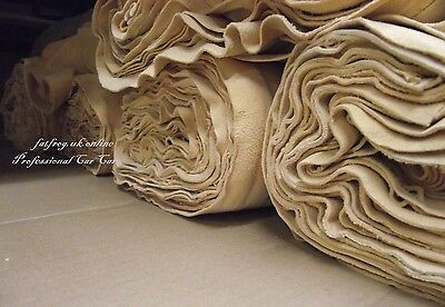 20 x 4 sq ft Genuine Chamois Leather Best Quality Car cloth large WHOLESALE