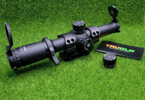 TruGlo Tru-Brite 30 Series Tactical Scope 1-6x24mm Illuminated 30mm - TG8516TL