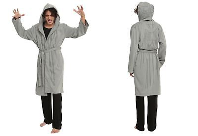 DR DOCTOR WHO WEEPING ANGEL BATH ROBE COSPLAY COSTUME DRESS-UP WARM MEN SZ S/M - Dr Who Angel Costume