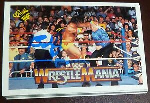 Bobby-Heenan-Signed-1990-Classic-WWE-Card-106-Wrestlemania-V-WWF-The-Brain-Auto