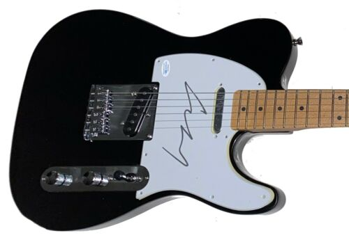 LOU REED Velvet Underground Autograph Signed Guitar PROOF ACOA Certified RARE!