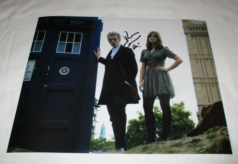 PETER CAPALDI SIGNED DOCTOR WHO 11X14 PHOTO