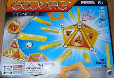 Geomag Panels 50 Piece Magnetic Building Construction Toy Ages 5+ #461