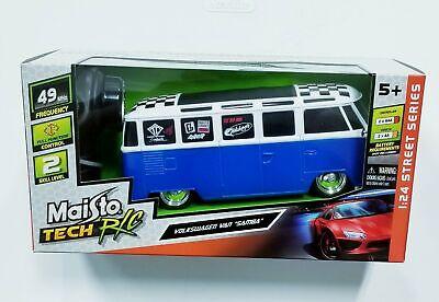 "Maisto R/C 1:24 Scale Volkswagen Van ""Samba"" Radio Control"