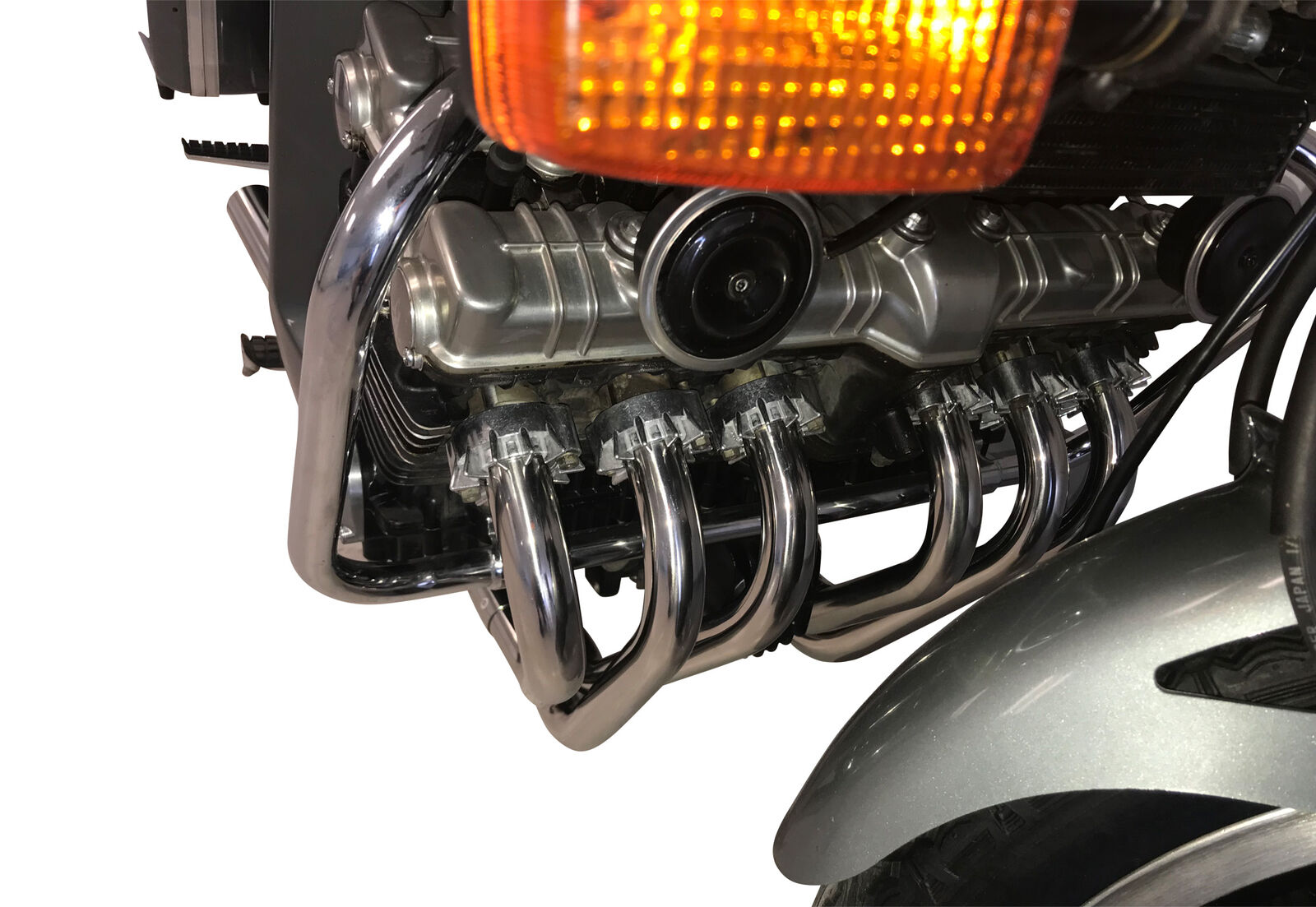 Delkevic Twin Shock Full Chrome Exhaust System 1979 1980 CBX1000 RESTORE YOUR CBX TODAY!
