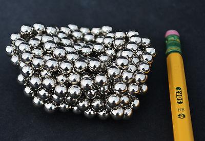 100 Strong Magnets Spheres Balls 5mm 732 Neodymium - Us Seller