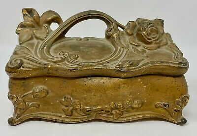 New Perfect Condition Gold Trim 34 Sold As Is Never Used All Sales Final Vintage  Four Leaf CLOVER PIN Metal