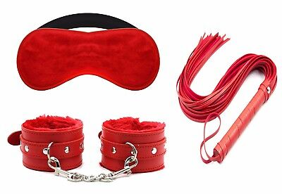 Fur Soft Leather Handcuffs and Blindfold Eye Mask For Male and Female Couple sex](Masquerade Costume For Female)