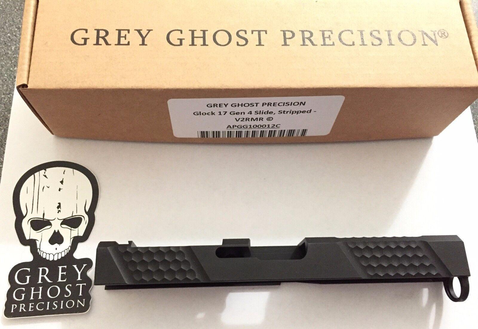 Grey ghost precision aero Glock 17 or 19 slide V1 V2 Gen 3 or 4 G19 G17 RMR  cut