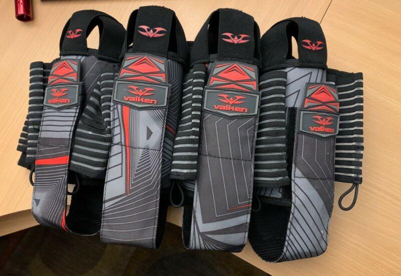 Valken 4+7 Redemption Harness Pod Pack -Red/Gray/Black
