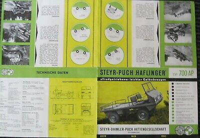 * Steyr Puch Haflinger 700 AP  Prospekt 1960