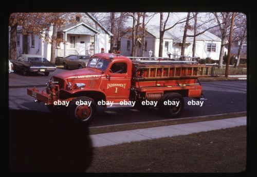 Spring Lake Heights NJ 1942 Chevrolet Military Pumper Fire Apparatus Slide