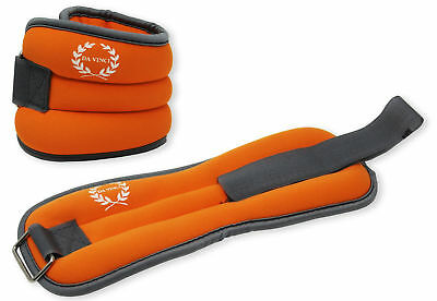 Free Priority Shipping! Ankle Weights for Scuba Diving and Exercise 2 x 2.5lb