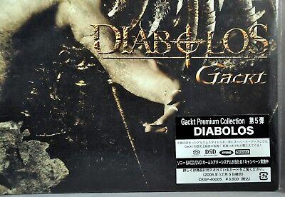 GACKT Diabolos Premium Collection Orig. Sealed JAPAN 2006 SACD Hybrid CRGP-40005 for sale  Folsom