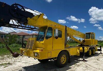 Grove Hydraulic Truck Crane Tms-250 25-ton 1979