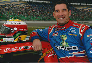 Max-PAPIS-SIGNED-NASCAR-Winner-Champion-12x8-Photo-AFTAL-COA-Autograph