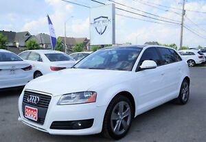 2009 Audi A3 2.0T Standard BLACK LEATHER INTERIOR | PANO ROOF...