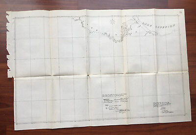 1898 Sketch Map Treaty of Ghent Parts of River St. Louis and Lake Superior