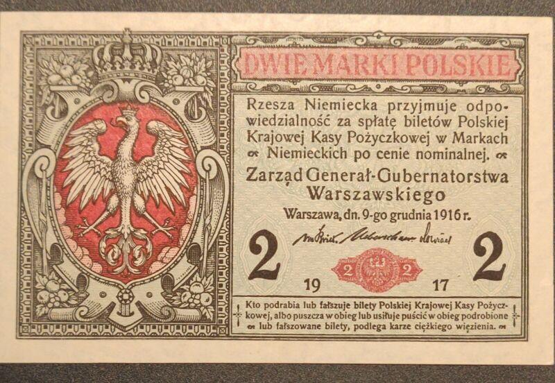 1916 Two Marks Poland