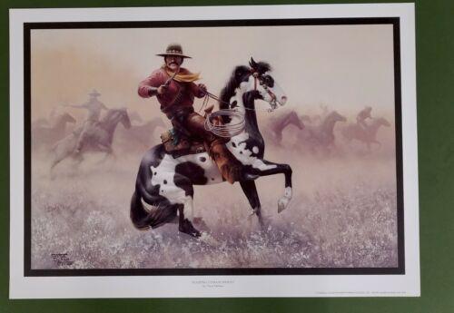 Raiding Comancheros  By Chuck Dehaan   Cowboy