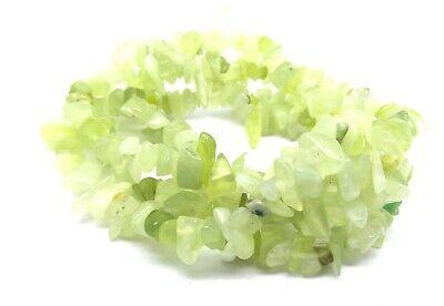 1 Strand Olive Jade Gemstone Bead Chips - 80cm Long - Stones 5-8mm - P00286XB