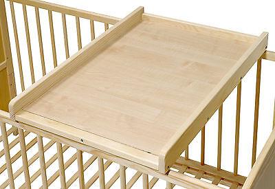 Wickelbrett | Wickeltisch | Wickelaufsatz für Betten 140x70 und 120x60 cm