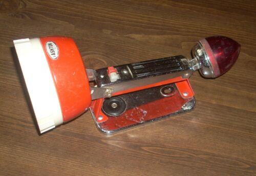 Old Ashton Emergency Flashlight With Red Light Vintage Flash Light
