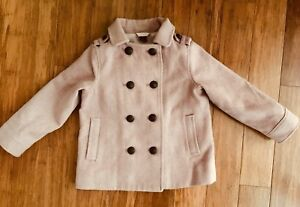 GAP Girls Double-breasted Jacket, Size 4 VGUC