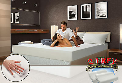 12 Inch Cool Med Firm Memory Foam Mattress Twin  Full  Queen  King  Cal King  Rv