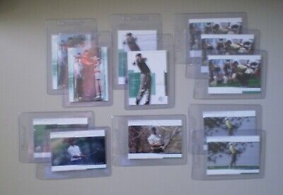 """""""TIGER WOODS"""" / 2005 SP - Panorama, Clutch, Base (12) Card Lot"""