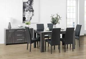 Amart Dining Table and Chairs Package Bedford Park Mitcham Area Preview