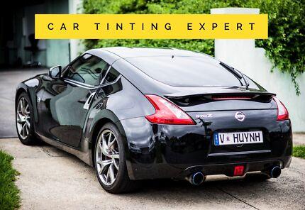 Car Tinting Expert 99%UV Lifetime Warranty!