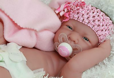 NEW~ Precious Preemie Berenguer La Newborn Doll + Extras - Over 2300+ SOLD