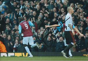 Carlton-COLE-Signed-Autograph-12x8-Photo-AFTAL-COA-West-Ham-United-Genuine