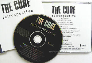 THE CURE CD Retrospective USA PROMO ONLY 13 Track Unplayed 1996 Rare