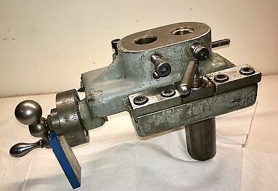 Gisholt Tool No. 1502 Adaptable Lathe Attachment Tool Holder - Price Reduction