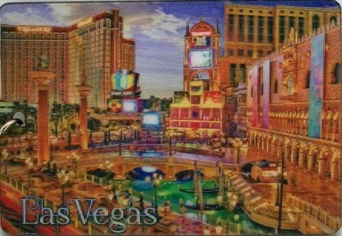 Las Vegas Venetian Treasure Island Double Sided 3D Key Chain