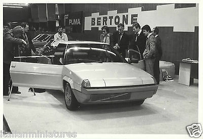 Bertone  Volvo Tundra 1979 Concept Car Original Motor Show Press Photograph