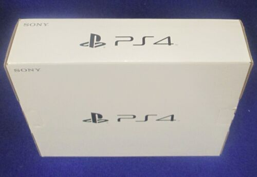 PLAYSTATION 4 PS4 500 GB EMPTY RETAIL BOX ONLY - NO CONSOLE, EMPTY BOX ONLY!
