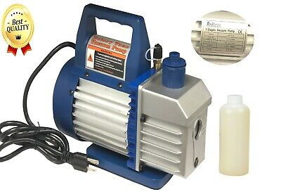 Vacuum Pump 14hp - 1.5 Cfm  Ac Air Tool R410a R134 Hvac Refrigerant