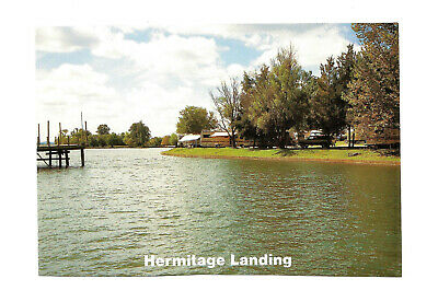 Hermitage Landing TN Postcard Nashville Shores Tennessee Percy Priest Lake