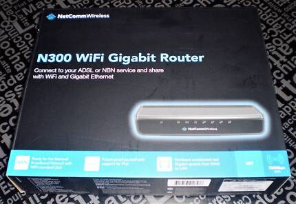 NetComm Wireless NF7 4 Port Gigabit Router - suits NBN or ADSL