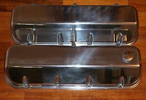 BIG BLOCK CHEVY (MARINE) VALVE COVERS, MERCRUISER, V-DRIVE