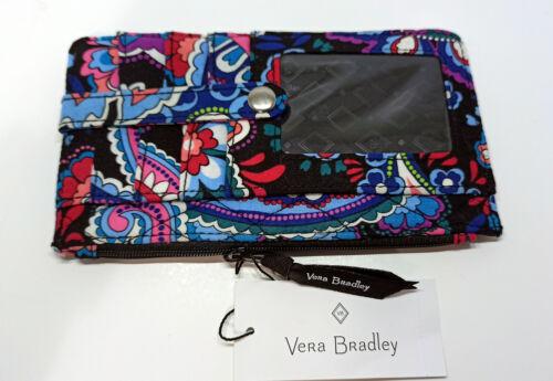 Vera Bradley - Ultimate Card case - RFID Protection -Haymarket Paisley