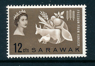 SARAWAK 1963 FREEDOM FROM HUNGER CROWN AGENTS OMNIBUS  MNH